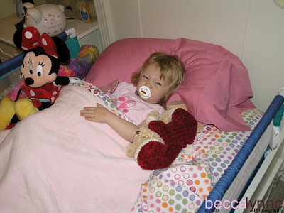 january 8. 2007 into the big girl bed