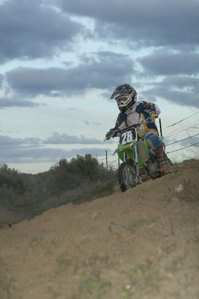 2008 Desert 100--Play Area Short Track   Green Bikes