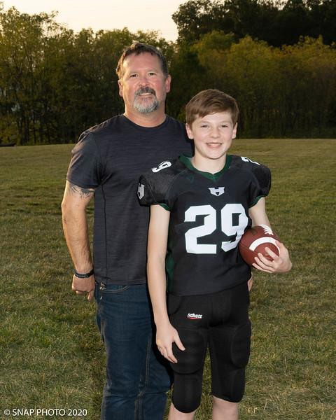 2020 Harleysville Eagles Coach-Player Shots