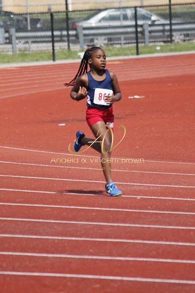 Champs: 9-10 Girls 400M