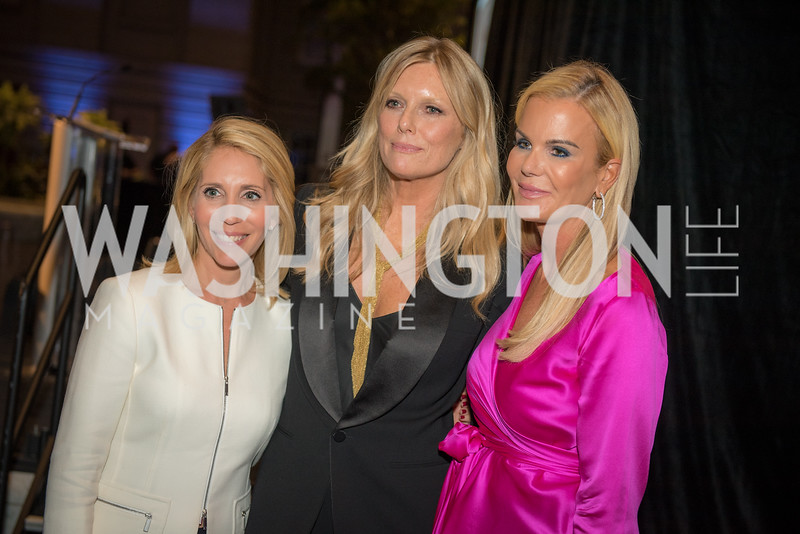Dana Bash, Patti Hansen, Susanna Quinn,  Conversation with Supermodel Patti Hansen and Ivan Shaw, National Portrait Gallery, October 11, 2018.  Photo by Ben Droz.
