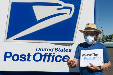 """Save the Post Office Saturday"" Day of Action in Medford"