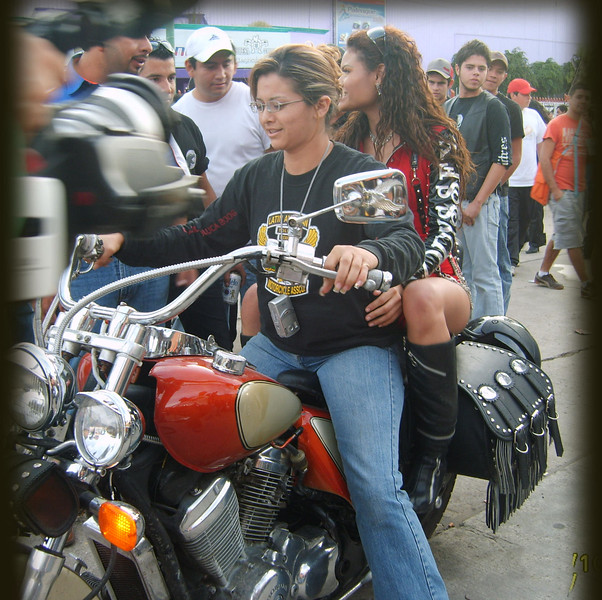 Girls and Motorcycles