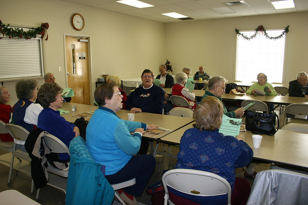 Senior Center Carols - December 2006