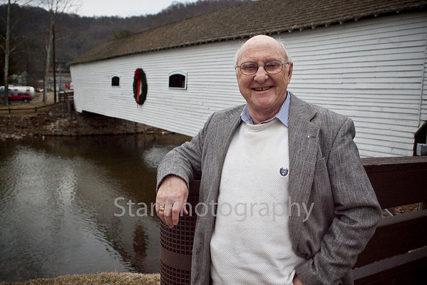 Progress-Harold Lingerfelt at the Covered Bridge 03-02-10