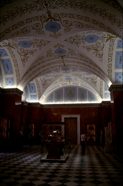 inside of the Hermitage Museum (winter palace of Peter the Great)