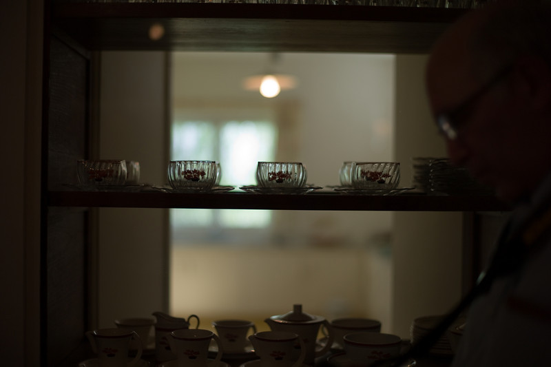 The pantry of the Weizmann House.