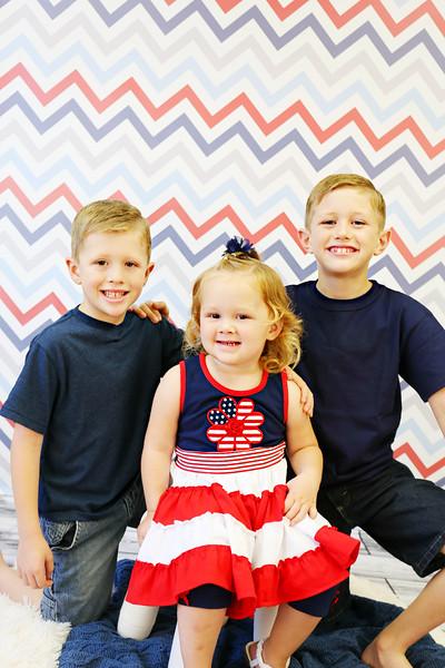 Carter, Jackson & Ellie