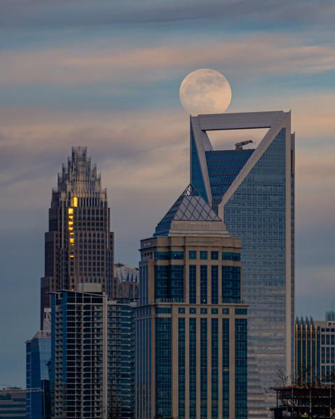 Full Moon During Daylight
