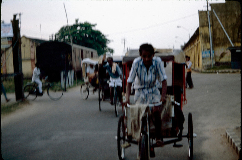 rickshaw from train station