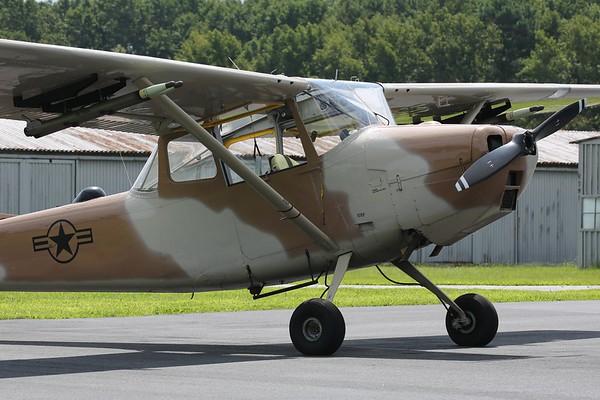 "1951 Cessna O-1G ""Bird Dog"", Norfolk, 19Aug18"