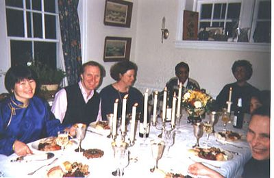 Thanksgiving Dinner with Prof. Woollcott Smith, his family and friends