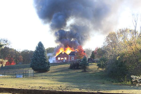 Barrington /Countryside Fire Protection District 4-11 Alarm Barn/Garage Fire