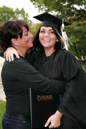 Ashela, Purdue graduate