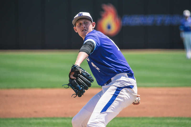 Seton Hall takes on St John's in the Big East Tournament at Prasco Park on May 27, 2018.