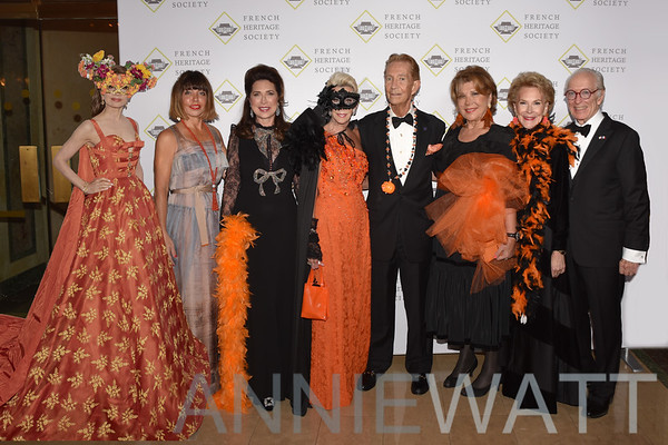 OCt. 31, 2018 French Heritage Society's Black and Orange Ball