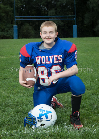 Kane Wolves MS Football 2019