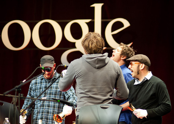 OK Go at Google