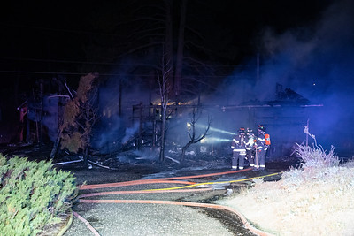 Forest Canyon Outbuilding Fire