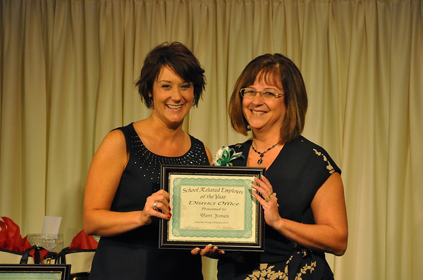 Last Year's (2012) Teacher of the Year Banquet