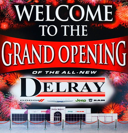 Delray Chrysler Grand Opening Event April 12, 2012, 6-8 PM