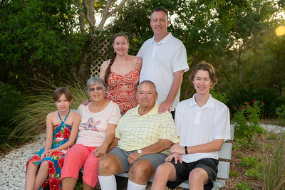 Cude, Larry and Carol family