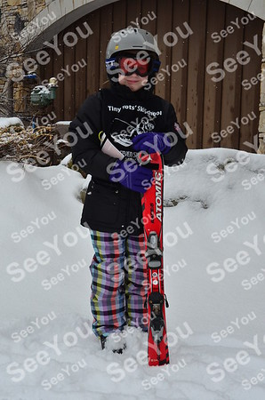 Tiny Tots Ski School 2-28-13