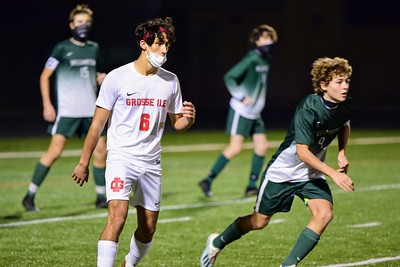 HS Sports - Grosse Ile vs. Williamston Boys Soccer 20