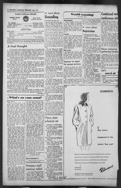The Trojan, Vol. 35, No. 72, January 14, 1944
