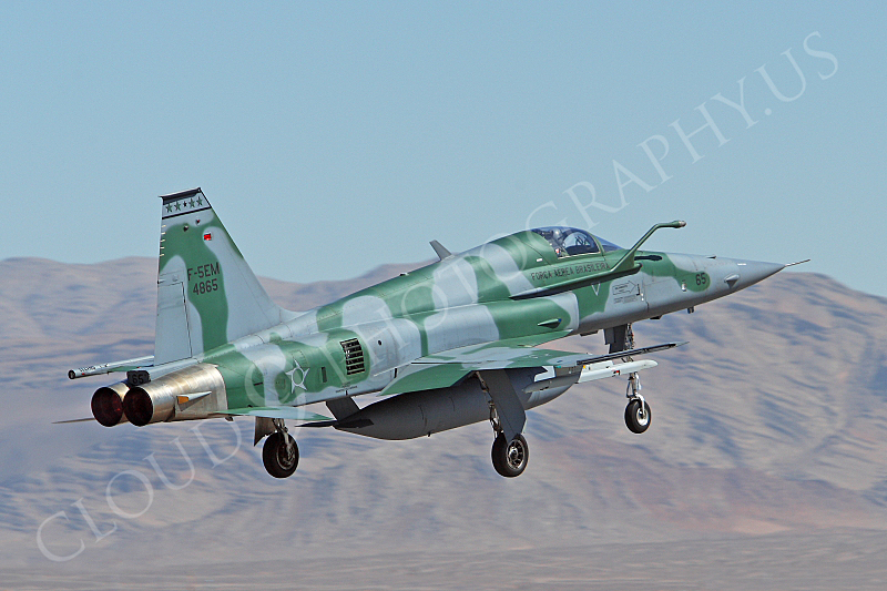 F-5FORG 00024 Northrop F-5EM Freedom Fighter Brazilian Air Force 4865 Nellis AFB by Peter J Mancus.JPG