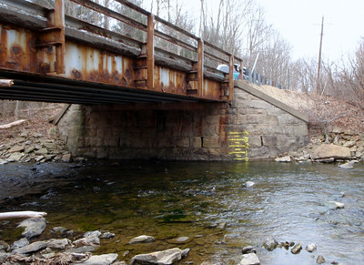 Painted River Gauges, Meadow Run, Fike Run, Indian Creek, Rasler Run