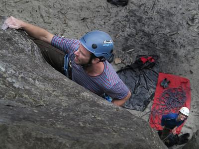 Dunedin Rock Climbing May - June 2013