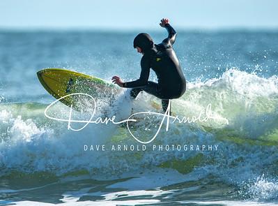 11/2/2019 - Surfing - Gooch's Beach, Kennebunk, Maine