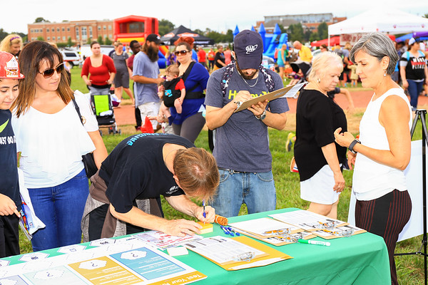 2018 Sept 29 - Rider Transit at the Kannapolis Fire Prevention Festival