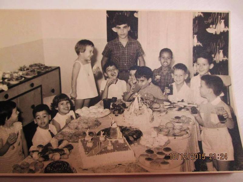 O 3º aniversário da Paula Firmino (Fev.1967)