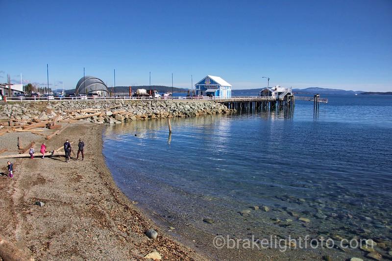 Beach at Fisherman's Wharf
