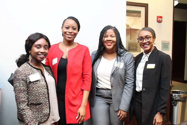 1-31-20 | Damali Booker 1L Minority Job Fair Reception @ Waller
