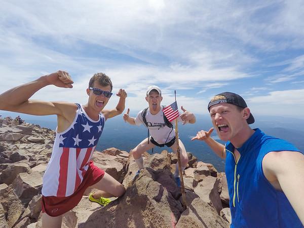 Mt McLoughlin Hike - July 4, 2015