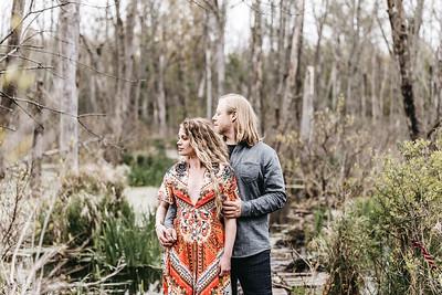 Brent and Liz- Whimsical Duneland Engagement