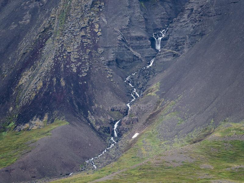 Little Finger Iceland Waterfall  Photography by Wayne Heim