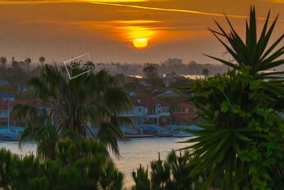 Newport Beach/Newport Coast-Oil Paintings
