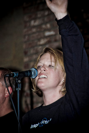 Band at Nashville Rescue Mission - Nov 2007