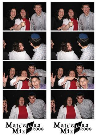 Matthew's Bar Mitzvah May 3rd, 2008