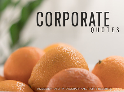 Booking- Corporate Photography