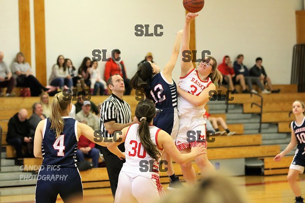 SLC VARSITY GIRLS BASKETBALL/MASSENA