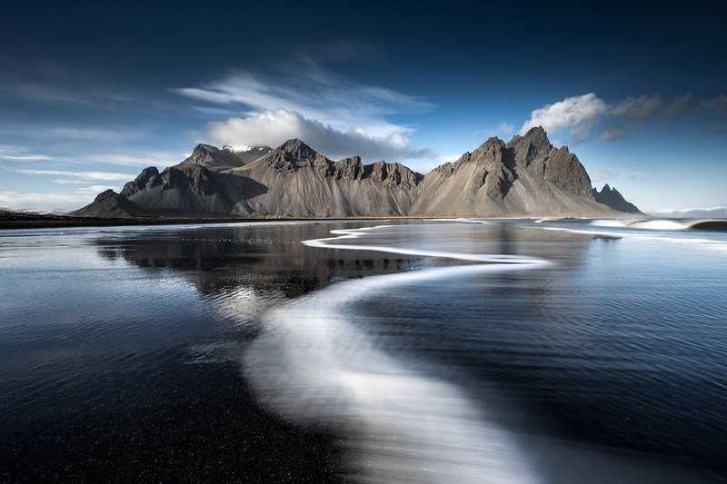 Stokksnes Iceland Landscape Photography ocean reflection.jpg
