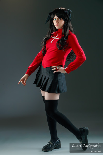 Rin Tohsaka (AngieRikku) from Fate/stay night