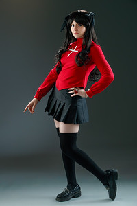 Rin Tohsaka (AngieRikku) from Fate/stay night