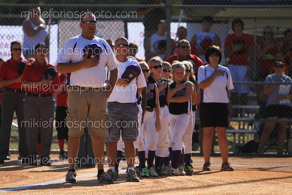 Elgin Allstar softball vs. Huffman state championship
