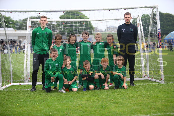Under 7's Championship at Drighlington gala 2018